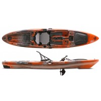 Kayak à pédales de pêche Native Slayer Propel 13' (Copperhead - Orange)