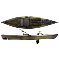 Kayak à pédales de pêche Native WaterCraft Manta Ray Propel Angler 12' (Vert/Lizard Lick)