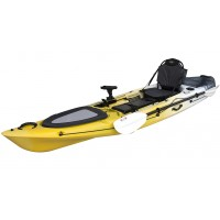 Kayak RTM Abaco 360 Premium (+ Pagaie fibre + Fauteuil) (Couleur Wasp: Gris et Jaune)