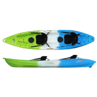 Kayak Feelfree Gemini (2 places) (Bleu/blanc/vert)