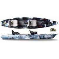 Kayak de pêche Feelfree Lure II Tandem (Desert Camo)