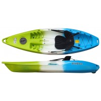 Kayak Feelfree Move (Ice Cool: Vert/Blanc/Bleu) + Siège