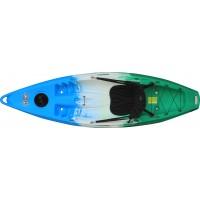 Kayak Feelfree Move (Field: Bleu/Blanc/Vert) + Siège