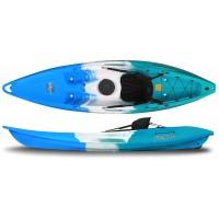 Kayak Feelfree Nomad (Sapphire : Bleu/Blanc/Bleu) + Siège