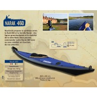 Kayak Nautiraid Narak 460 K1 Tourring Bois