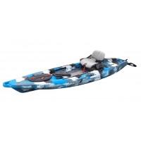 Kayak de pêche Feelfree Lure 11.5 Hi-Luxe (Avec gouvernail)