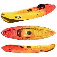 Kayak RTM Makao Confort (Couleur Soleil : Jaune et Orange)