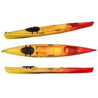 Kayak RTM Tempo (Couleur Soleil : Jaune et Orange)