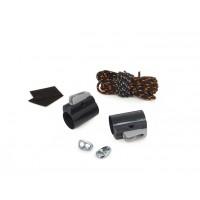 Kit d'étarquage Clam Kit Pro Nautix Clamcleat 30-32 (gris foncé – Pour wish aluminium Nx Slalom)