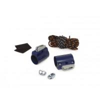 Kit d'étarquage Clam Kit Pro Nautix Clamcleat 32-35 (bleu – pour wish D30mm et pour BIC 293)