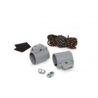 Kit d'étarquage Clam Kit Pro Nautix Clamcleat 42-43 (gris clair – pour wish Nx Carbone 180-230 et 200-250)