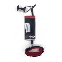 Leash de body NMD Biceps (Noir/Rouge)