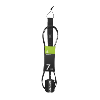 Leash de surf GreenFix 7' Regular (Noir)
