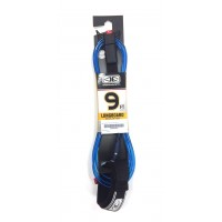 Leash de longboard Ocean & Earth Regular 9' Genoux (Bleu/trans)