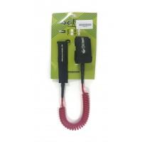 Leash téléphone de paddle 8' (8mm) Rouge