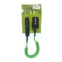 Leash téléphone de paddle 9' (8mm) Vert