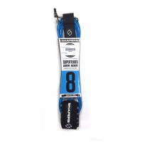 Leash de surf Shapers 8' (Bleu)