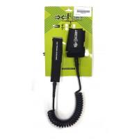 Leash de paddle téléphone 8' (8mm) Noir