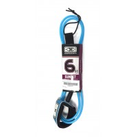 Leash de surf Ocean & Earth Sunset 6' (Bleu)