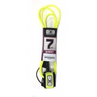 Leash de surf Ocean & Earth Sunset 7' (Jaune)