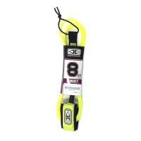 Leash de surf Ocean & Earth Sunset 8' (Jaune)