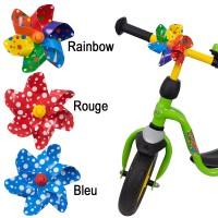 Moulin à vent pour vélo et trottinette (Rainbow)