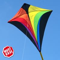 Cerf-volant Eddy XL Rainbow