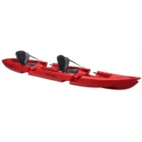 Kayak démontable Point 65 N Tequila GTX Tandem Duo (Rouge)