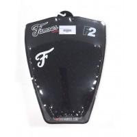 Pad / grip de surf Famous F2 (Noir)