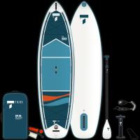 SUP-Yak Air Paddle BIC Tahe 10'6 Air Beach Pack