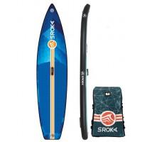 "Paddle gonflable Sroka Alpha 11' x 30"" Fusion (Bleu)"