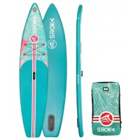 "Paddle gonflable Sroka Girly 11' x 30"" Fusion"