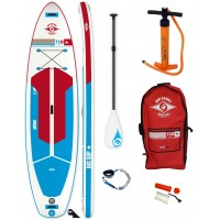 Pack Paddle gonflable Bic 11'0 Wing AIR + Pagaie + Leash