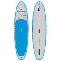 SUP gonflable Exocet Discovery 10'8 (Bleu/Gris) + pagaie + leash (Paddle d'exposition)