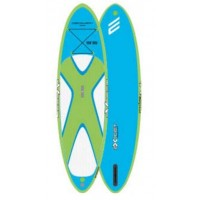 SUP gonflable Exocet Discovery 9'6 (Bleu/Vert)