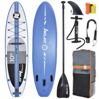 SUP Paddle Gonflable ZRay Premium A2 10'6 (+ Pagaie + Leash)