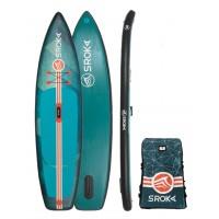 "Paddle gonflable Sroka Alpha 11' x 30"" Fusion (Vert)"