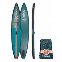 "Paddle gonflable Sroka Alpha 12'6 x 28"" Fusion (Ride 2018)"