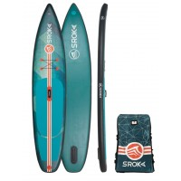 "Paddle gonflable Sroka Alpha 12'6 x 31"" Fusion (Vert)"