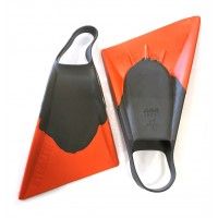Palmes de bodyboard Stealth S2 (Grey/Orange)