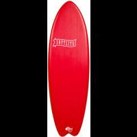 Planche de surf en mousse Softlite 5'9 Fish (Rouge)