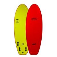 Planche de surf en mousse Mullet Biscuit 5'4 (Rouge)