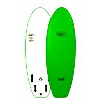 Planche de surf en mousse Mullet Biscuit 5'4 (Vert)