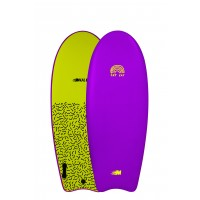 Planche de surf en mousse Mullet Fat Cat 4'8 (Mauve)
