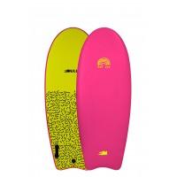 Planche de surf en mousse Mullet Fat Cat 4'8 (Rose)