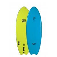Planche de surf en mousse Mullet Fish Finger 5'2 (Bleu)
