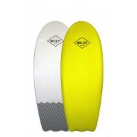 Planche de surf en mousse Mullet The Fork 4'8 (Jaune)
