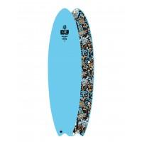 Planche de surf Ocean Earth Hippy Skull Ezi-Rider 7.0