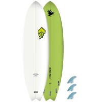 Planche de surf Superfrog 6'4 Hydro Fish 2019