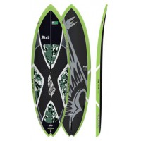 SUP de vagues Exocet Fish 7'11'' (Carbone)